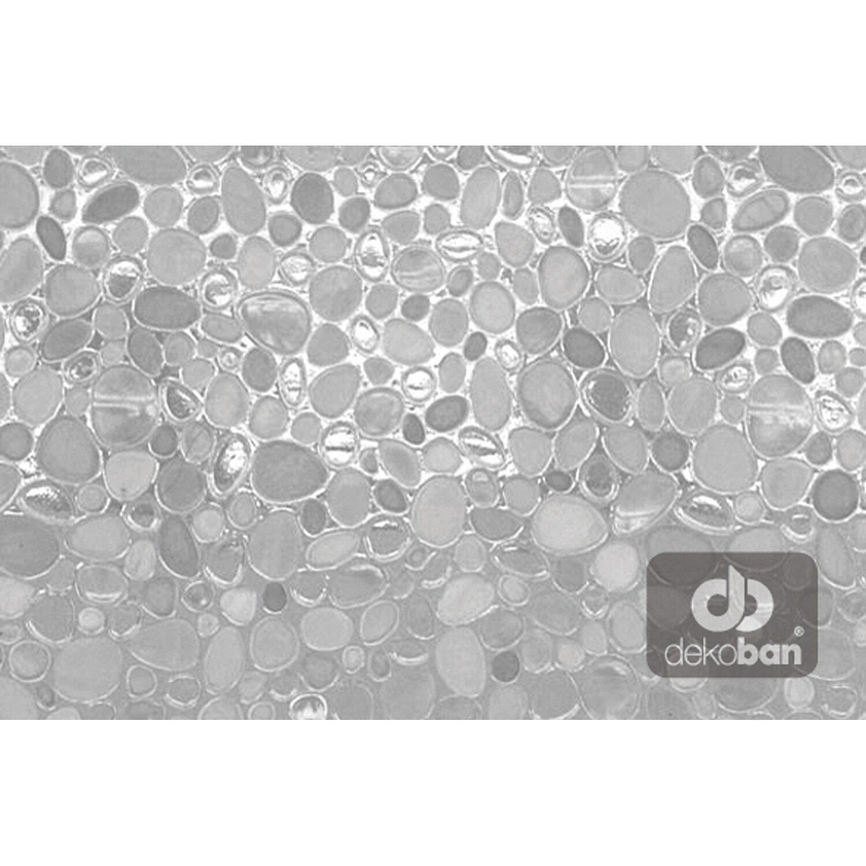 Dekoban folia statyczna kamyki transparentne 45 cm kupuj w obi - Kuchenruckwand folie obi ...