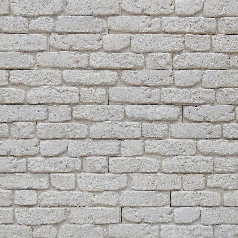 Stone Master Kamień Dekoracyjny City Brick Biały