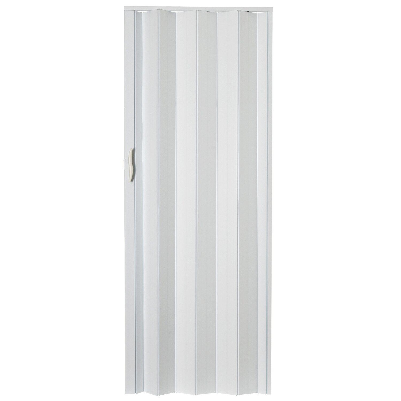 Drzwi Harmonijkowe M001p Białe