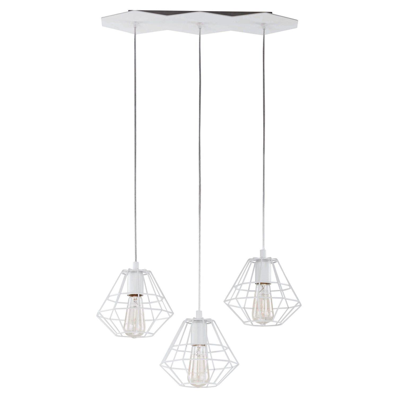 Tk Lighting Lampa Sufitowa Diamond 3x60w E27