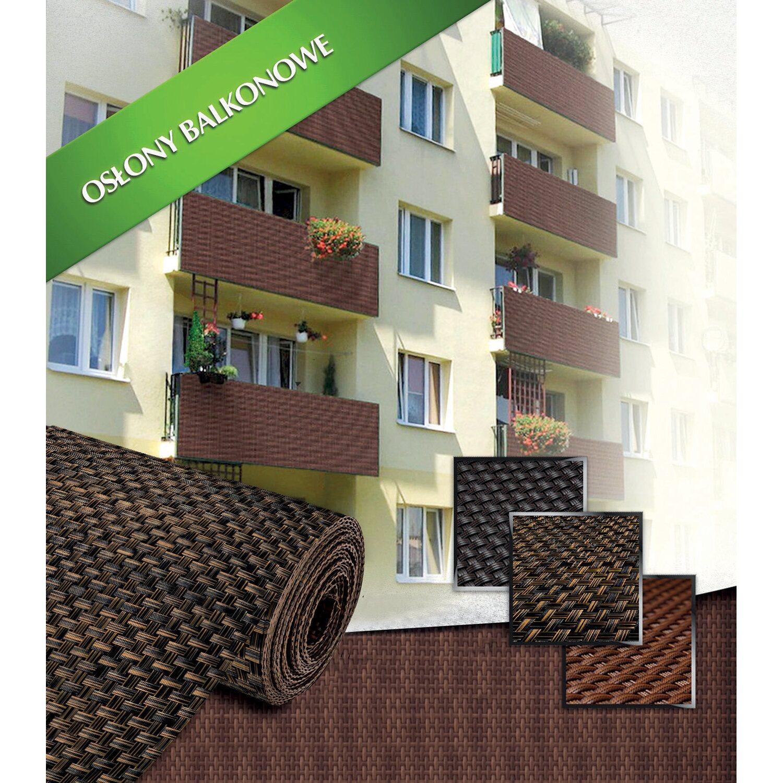 Mata Osłonowa Z Tworzywa Antracyt 100cm