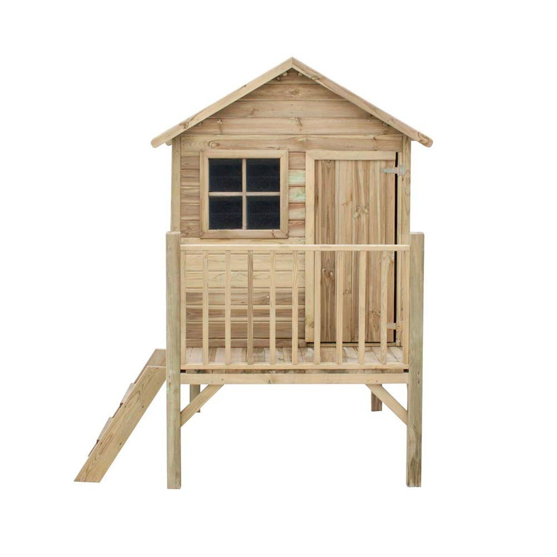 Domek dzieci cy tomek 125 cm x 178 cm x 211 cm kupuj w obi for Casette legno obi