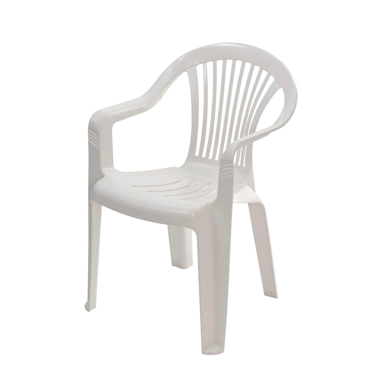 Krzesło Ogrodowe Szafir Białe Kupuj W Obi