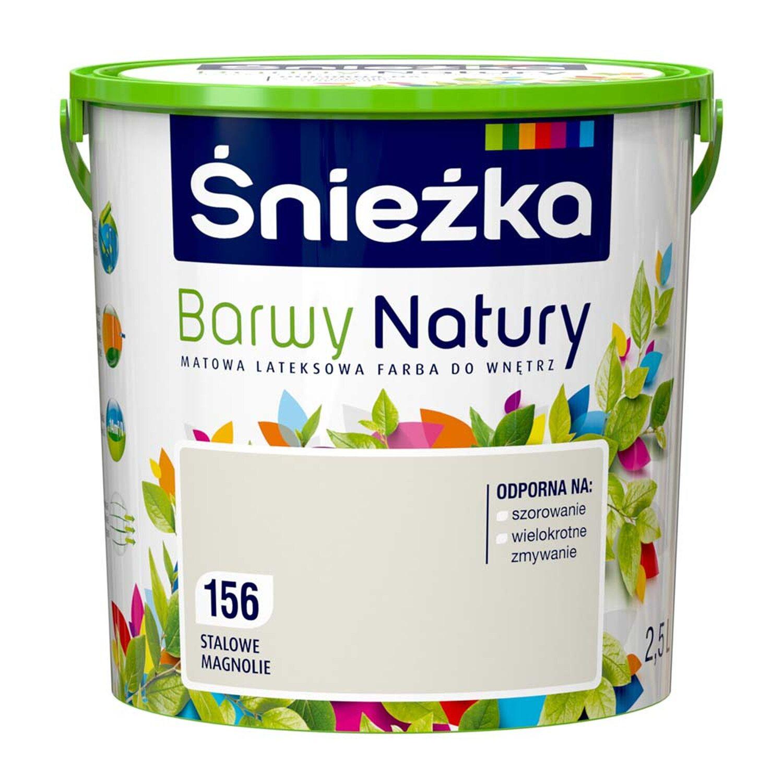 Sniezka Emulsja Barwy Natury Stalowe Magnolie 2 5 L Kupuj W Obi