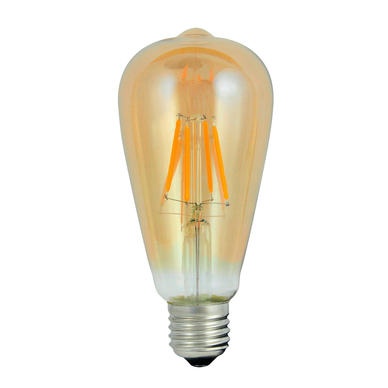 Polux żarówka Amber Vintage Led 4w E27