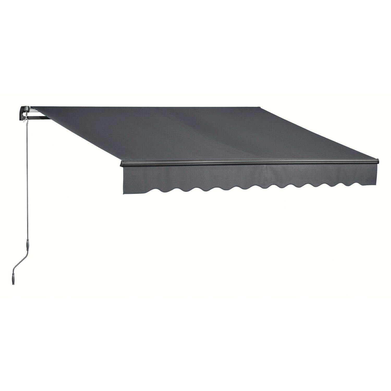 obi markiza szara 4 m x 2 5 m kupuj w obi. Black Bedroom Furniture Sets. Home Design Ideas