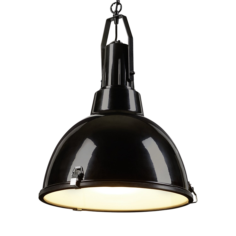 Czarna Lampa Obi