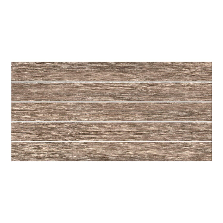 Cersanit Glazura Orneka Wood Brown Structure 297 Cm X 60 Cm