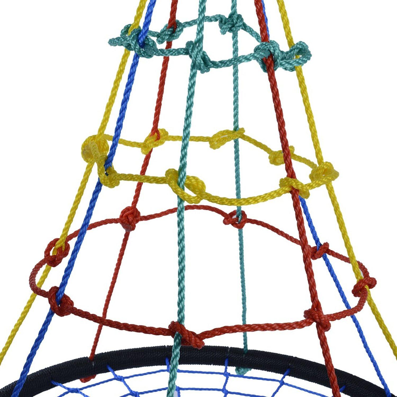 siedzisko bocianie gniazdo ścianka wspinaczkowa siatka