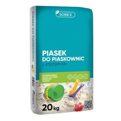 Sobex Piasek do piaskownic worek 20kg
