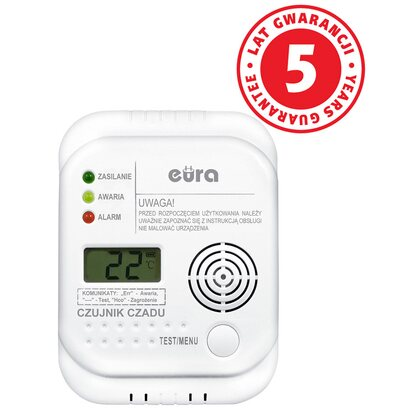 Eura Czujnik czadu CD-65A4