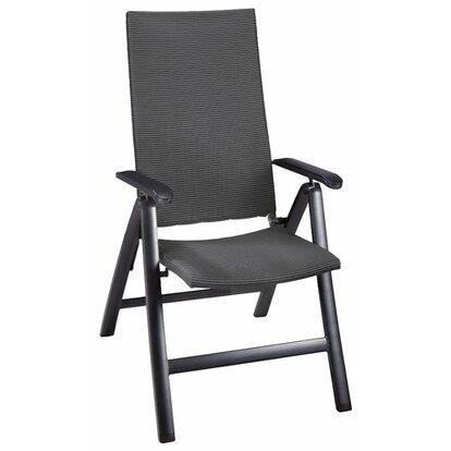 OBI Living Garden Fotel składany PakoraII czarny
