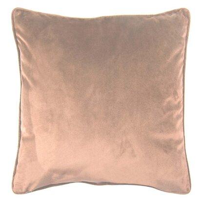 Poduszka Velvet beżowa
