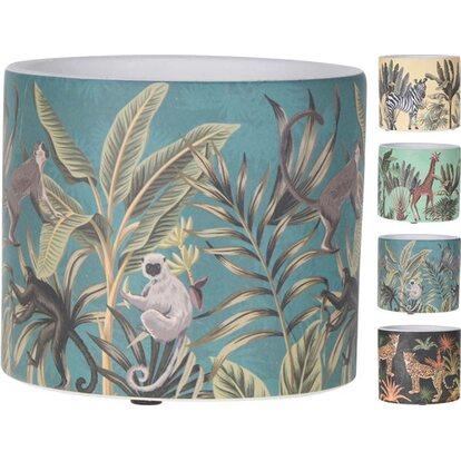 Doniczka ceramiczna Tropik kolorowa 13,5cm