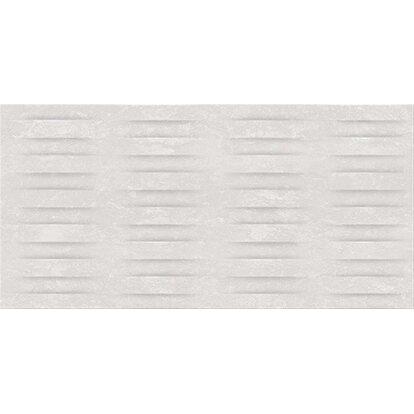 Glazura WATERLOO light grey structure 29,7 cm x 60 cm