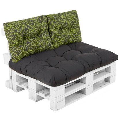 Poduszka paletowa na siedzisko antracyt