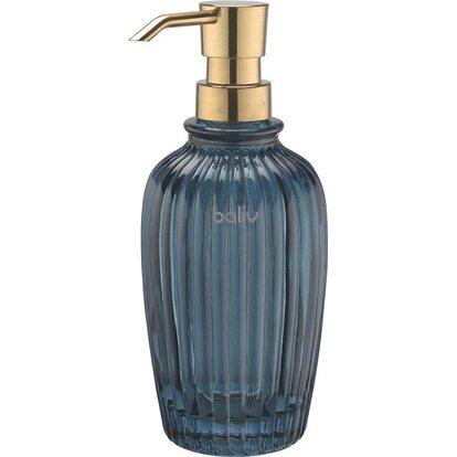BALIV Dozownik do mydła 180 niebieski niski