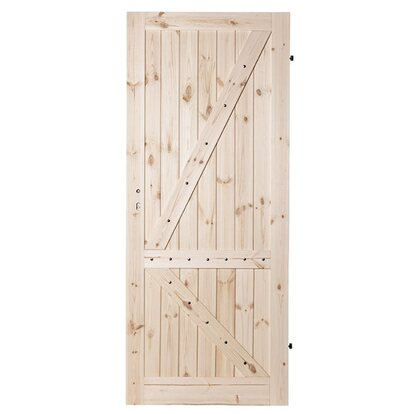 Kornik Skrzydło drzwiowe Duo Loft sosna sęczna pełne 80P