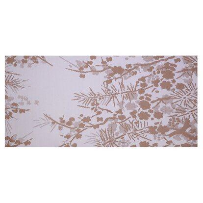 Dywan tarasowy kwiaty brąz SP/009 90x180