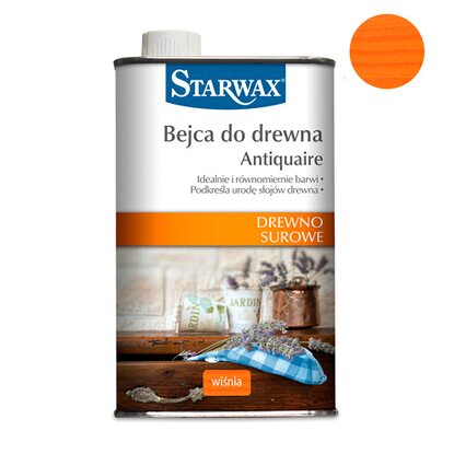 Starwax Bejca do drewna Antiquaire wiśnia 500 ml
