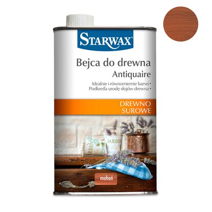 Starwax Bejca do drewna Antiquaire mahoń 500 ml