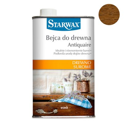 Starwax Bejca do drewna Antiquaire orzech 500 ml
