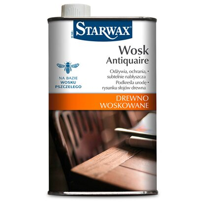 Starwax Wosk w płynie Antiquaire mahoń 500 ml