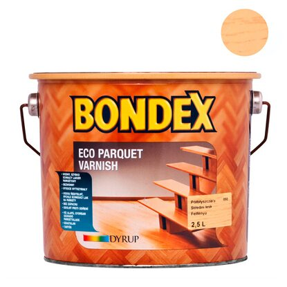 Bondex Lakier do parkietu Eco Parquet Varnish półmat 2,5 l