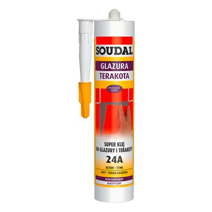 Soudal Super klej do glazury i terakoty 24A 300 ml