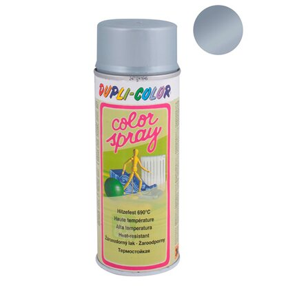 Dupli-Color Lakier żaroodporny do 690 st.C ColorSpray srebrny 400 ml