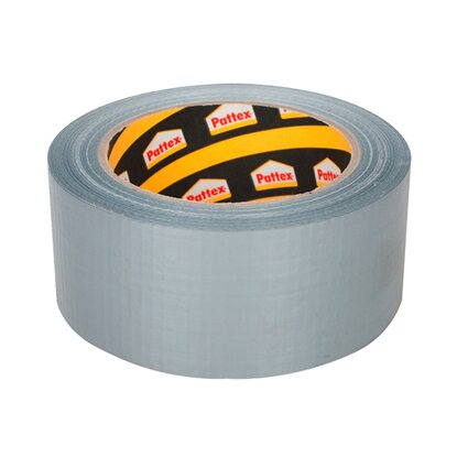 Pattex Taśma naprawcza Power Tape srebrna 25 m x 50 mm
