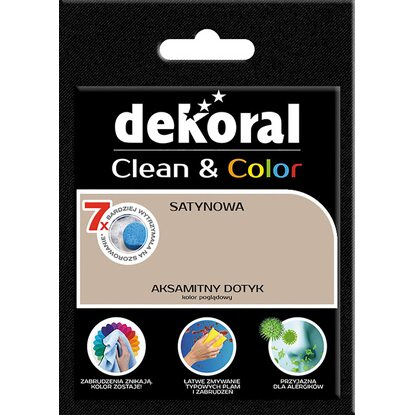 Dekoral Tester farby Clean Color aksamitny dotyk