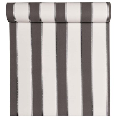 Tapeta flizelinowa White Stripes szara 0,53x10,05 m