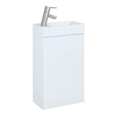 Zestaw Efi biała szafka z umywalką 40 cm