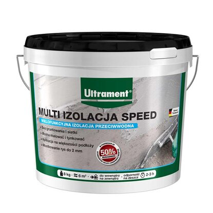 Ultrament Multi izolacja speed 8 kg
