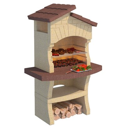 Grill betonowy lione kupuj w obi for Barbecue in muratura obi