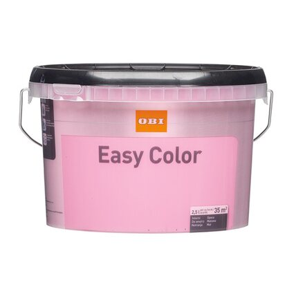 OBI Emulsja Easy Color różowy 2,5 l