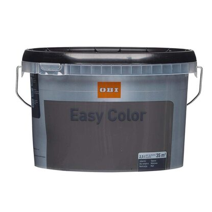 OBI Easy Color Emulsja antracyt 2,5 l