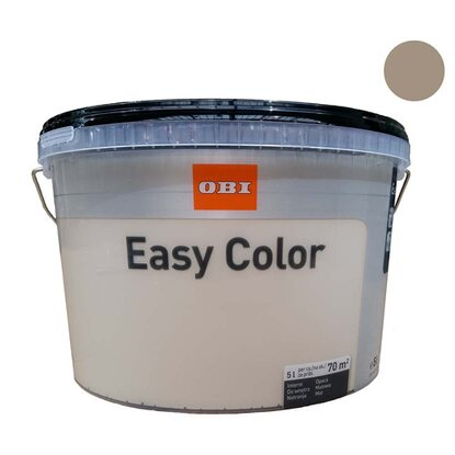 OBI Easy Color Emulsja havanna 5 l
