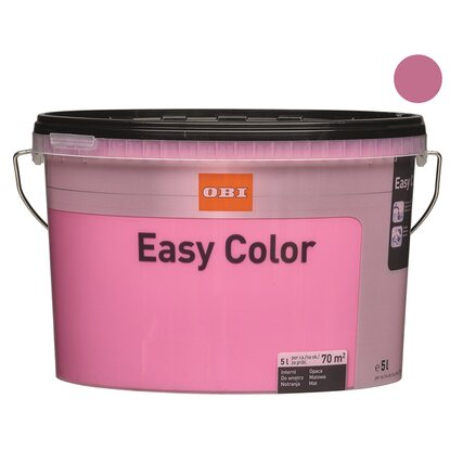 OBI Easy Color Emulsja różowy 5 l