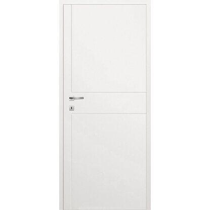 Classen Skrzydło drzwiowe bezprzylgowe Linea Frez białe lakierowane 80P