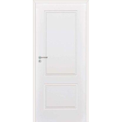 Classen Skrzydło drzwiowe bezprzylgowe Venis Frez białe lakierowane 80P