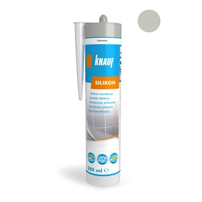 Knauf Silikon sanitarny manhattan 280 ml