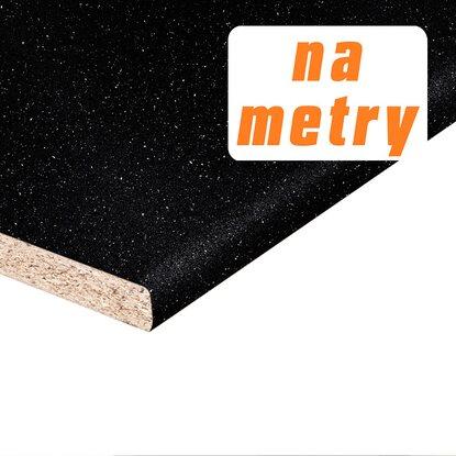Kronospan Blat roboczy andromeda czarna błyszczący 3,8x60x410cm