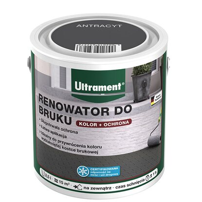 Ultrament Renowator do bruku 2,5 L antracyt
