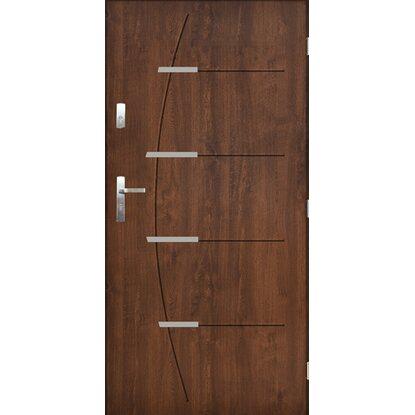 Pantor Drzwi zewnętrzne Braga orzech szlachetny 80P