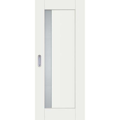 DRE Skrzydło drzwiowe przesuwne Alva 2 biały sirius 80
