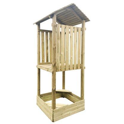4IQ Moduł B Placu zabaw Hektor wieża z daszkiem 104 cm x 168 cm wys.: 281 cm