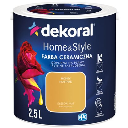 Dekoral Emulsja Home & Style honey mustard 2,5 l