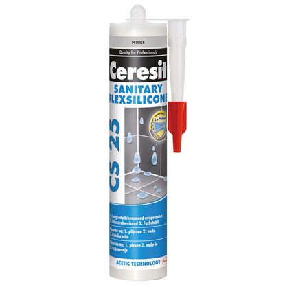Ceresit Silikon sanitarny CS 25 4 silver 280 ml
